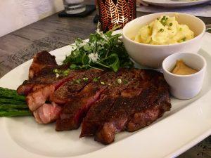 US Prime Rib Eye Steak. I literally drooled. Well, maybe because I haven't had good steak since hehe